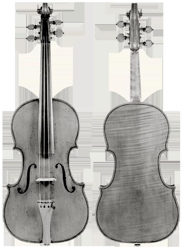 Joseph Rocca, Turin, 1852, 3/4 sized violin