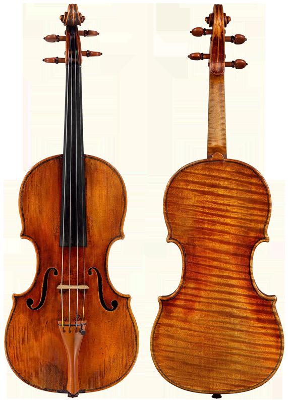 Violin   Alessandro Gagliano, Naples, c. 1706