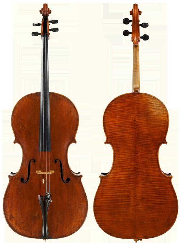 Cello | Vincenzo Postiglione, Naples, 1898