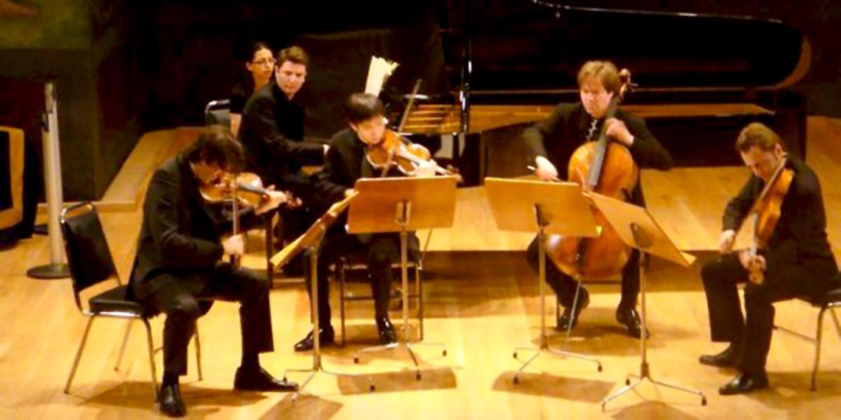 Square-Rare Violin Exhibition in MexicoGroup