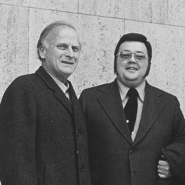 Yehudi Menuhin and Geoffrey Fushi