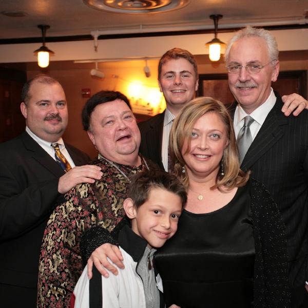 Alec Fushi, Geoffrey Fushi, Noah Sims, Joe Bein, Suzanne Fushi, and Robert Bein